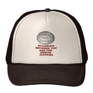 liberty pest control hat