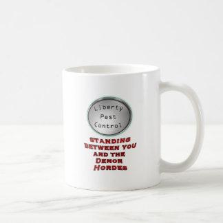 liberty pest control mugs