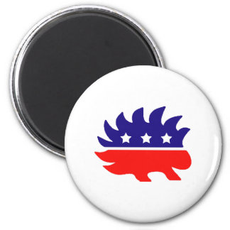 Liberty porcupine magnet