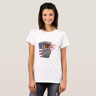 Liberty Pug T-Shirt