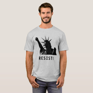 Liberty Resists in Shadow T-Shirt