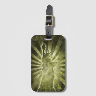Liberty Statue Luggage Tag