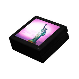 Liberty statue New York Trinket Boxes