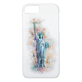 Liberty, Statue of Liberty, New York, Manhattan, iPhone 8/7 Case