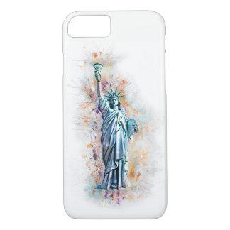 Liberty, Statue of Liberty, New York, Manhattan, iPhone 8/7 Case