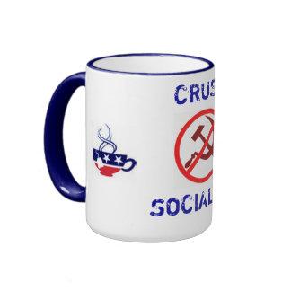 "Liberty Street ""Crush Socialism"" Mug"