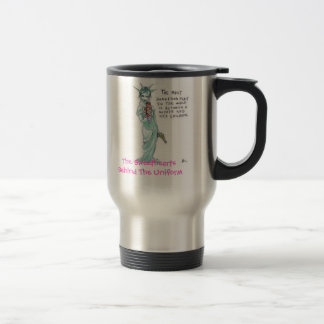 Liberty, The Sweethearts Behind The Uniform Stainless Steel Travel Mug