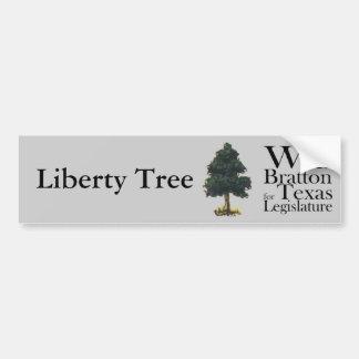 Liberty Tree Will Bratton for Texas Legislature Bumper Stickers