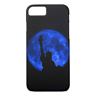 Liberty Under the Blue Moon iPhone 7 Case