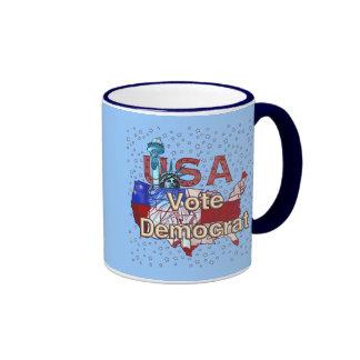 Liberty Vote Democrat Coffee Mugs