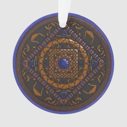 Libra Acrylic Ornament