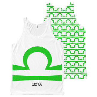 Libra All-Over Print Singlet