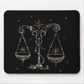 Libra Astrology Mousepad