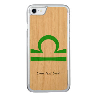 Libra Carved iPhone 7 Case
