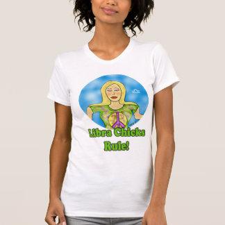 Libra Chicks Rule! T-Shirt