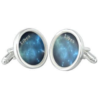 Libra constellation cuff links