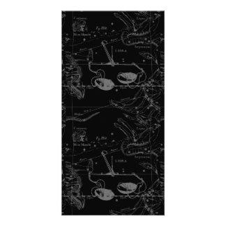 Libra Constellation Hevelius 1690 Sept23 - Oct22 Photo Card