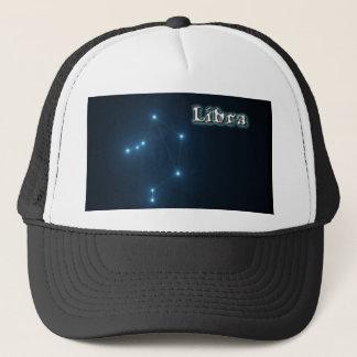 Libra constellation trucker hat