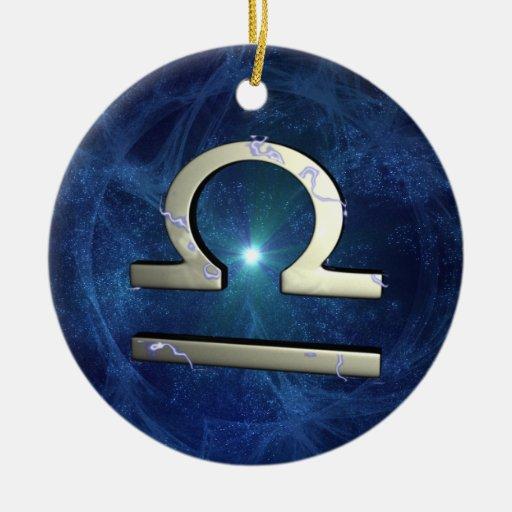 Libra Christmas Ornaments