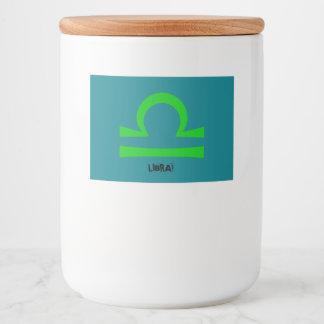 Libra Food Label