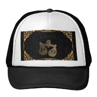 Libra golden sign cap
