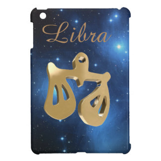 Libra golden sign case for the iPad mini
