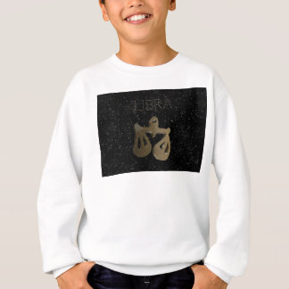 Libra golden sign sweatshirt