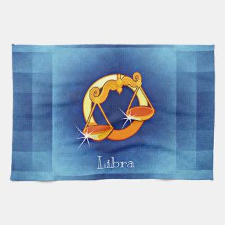 libra horoscope tea towel