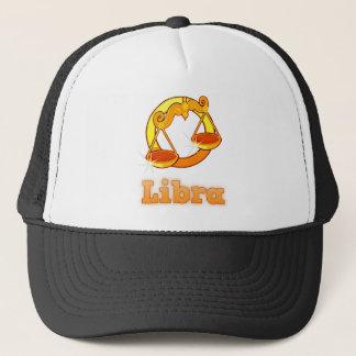 Libra illustration trucker hat