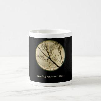 Libra Moon Through Tree Branches Basic White Mug