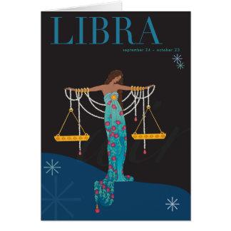 Libra Note Card