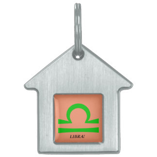Libra Pet ID Tag