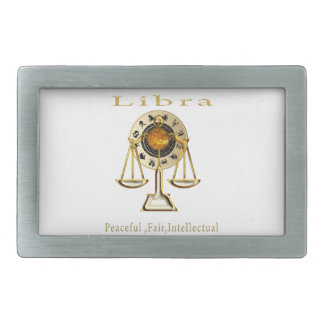 Libra products rectangular belt buckle