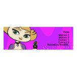 Libra Profile Card Business Card Template