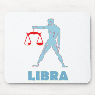 Libra Scales - Astrology Mouse Pad