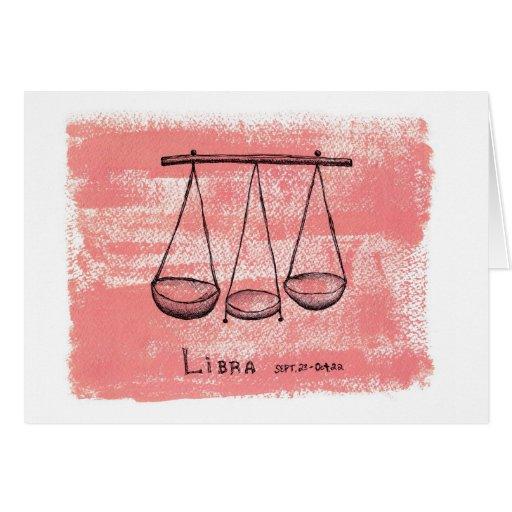 Libra Sept. 22nd - Oct. 22 Card