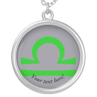 Libra Silver Plated Necklace