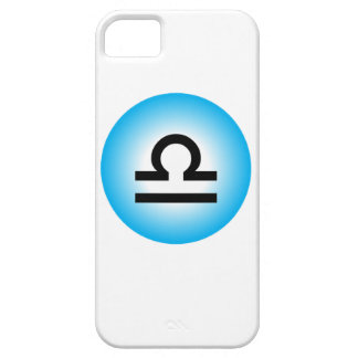 LIBRA SYMBOL BARELY THERE iPhone 5 CASE