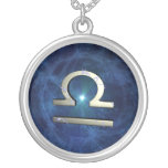 Libra symbol necklaces