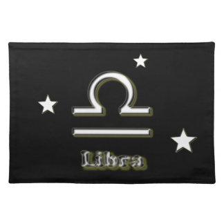 Libra symbol placemat