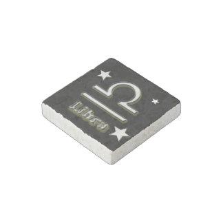 Libra symbol stone magnet