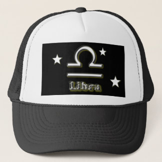 Libra symbol trucker hat
