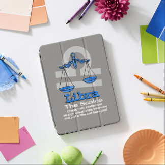 Libra The Scales grey blue cover