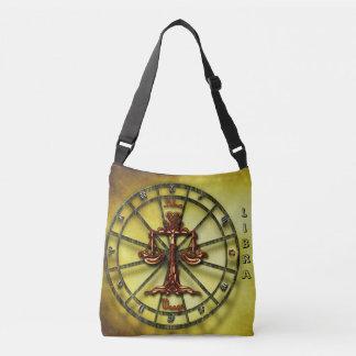 Libra Zodiac Astrology design Crossbody Bag