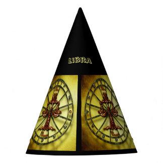 Libra Zodiac Astrology design Horoscope Party Hat