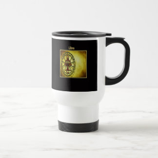 Libra Zodiac Astrology design Horoscope Travel Mug