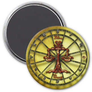 Libra Zodiac Astrology design Magnet