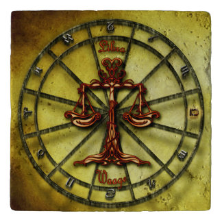 Libra Zodiac Astrology design Trivet