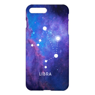 Libra Zodiac Constellation Deep Space Background iPhone 8 Plus/7 Plus Case