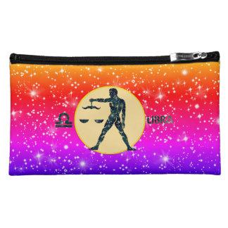 Libra Zodiac Cosmetic Accessory Bag
